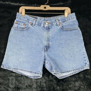 Levis 12 Jean Shorts 555 Guys Fit Mid High Rise